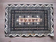 tapa Art ethnique Océanie Fidji - De l'écorce d'arbre à l'étoffe - Polynésie N°3