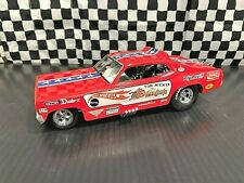 """Hot Wheels Tom McEwen 1970 Plymouth Duster """"Mongoose"""" 2 Car Set 1:24 &1:64 Boxed"""