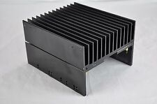 "Large Aluminum Heat Sink 6""x 5.5"" x 3.5"" Black"