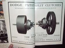 1900-03 Power & Transmission Engng, Dodge Mishawaka