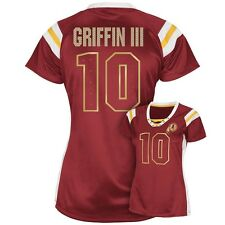 ($60) Redskins ROBERT GRIFFIN RG3 nfl Draft Me VI Jersey WOMENS/LADIES (xxl-2xl)