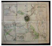 1891 Ravenstein - UGANDA - Masai - 1ST ASCENT - Mount Elgon Sudek Peak - Map - 4