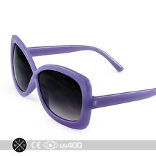 Purple Large Format Stylish Infinity Kids Girls Sunglasses Child Children K004