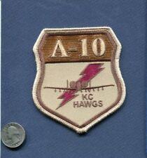 Original 303rd TFS  USAF A-10 THUNDERBOLT Warthog Desert Fighter Squadron Patch
