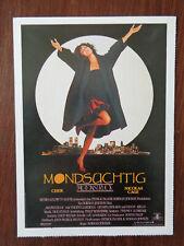 Filmplakatkarte / moviepostercard  Mondsüchtig  Cher