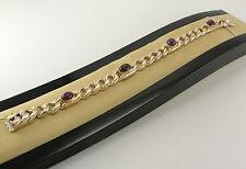 Echtschmuck-Armbänder aus Gelbgold mit Rubin für Damen