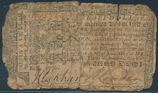 Md-53 1/2 Continental Currency 03/01/1770 Vg W/ Partially Torn At Center Bs6536