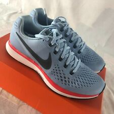 Nike Zoom Pegasus 34 Athletic Shoes Mens Size 7.5 Ice Blue Runners Trainers NIB