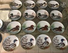 12 Porcelain  Duck Plate by Nancie Goldstein from Sigma Tastesetter 4 Designs