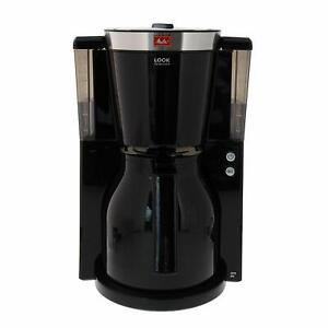 Melitta Coffee Maker Of Filter Jug Isothermal Selector Of Scent Black/Stainless