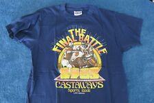 Vintage Castaways The Final Battle 1985 T-Shirt