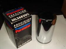 filtro olio cromato Purolator Harley Davidson FXD FXDWG FXDS simile 63813-90 5b416b5a1a