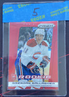 2013-14 Panini Prizm Red Brendan Gallagher #252 Montreal Canadiens Rookie