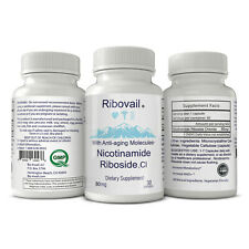 Ribovail Nicotinamide Riboside Chloride NR Dietary Supplement 80mg 30 servings