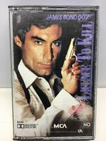 James Bond 007 License To Kill Soundtrack CASSETTE TAPE MCAC 6307