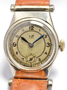 MONTRE ANCIENNE RARE LIP I.24 ISSOUDUN 1940 WW2 RESISTANCE VINTAGE FRENCH WATCH