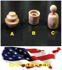 3 x 1/6 Neck Peg Joint Adapter Inner Connector Hottoys Body Custom Head USA