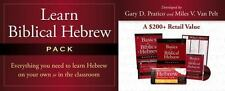 Learn Biblical Hebrew Pack: Integrated For Use With Basics Of Biblical Hebrew...