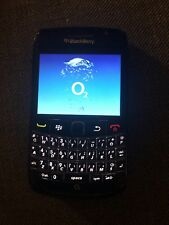 BlackBerry Bold 9700 O2 Mobile Smartphone Retro Vintage Old School Black Spares