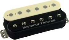 Seymour Duncan TB-11 Custom Custom Trembucker F-Spaced Bridge Pickup, Rev. Zebra