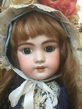 French Antique DEP Jumeau Bebe Antique  Doll Beautiful & Rare From France