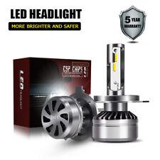 TURBOSII H4 12000LM 60W CSP LED Car Headlight Bulb 6000K Hi/Low Beam DOT Kit LXK