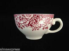 Rare Myott Staffordshire England China RED Indiana - TEA CUP
