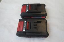 2 x Einhell Akku 1,5 Ah 18V Power X-Change  Ersatzakku  Battery