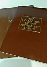 The Collection of 1981 Australian Stamps Original Album + Stamps & Cover