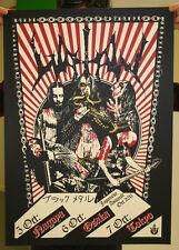 Watain Print ORIGINALE SIGNED Erik Danielsson Mayhem Darkthrone Taake Venom 1349