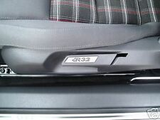 VW GOLF MK5 MK6 R32 ALLOY TRIM SEAT INSERTS PAIR