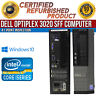 Dell OptiPlex 3020 SFF Intel i5 8GB RAM 500GB HDD Win 10 USB VGA B Grade Desktop