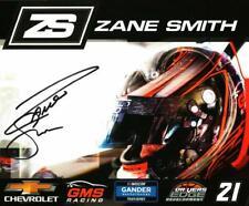 Autographed 2020 Zane Smith #21 GMS Racing Postcard