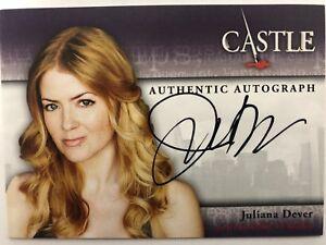 CASTLE Seasons 1 & 2 Cryptozoic : Juliana Dever JENNY DUFFY-O'MALLEY A11 Auto
