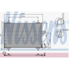 Kondensator Klimaanlage - Nissens 94542