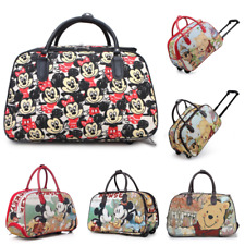Minnie Mouse Trolley Holdall Bag Girls Mickey Mouse Hand Luggage Travel Handbag