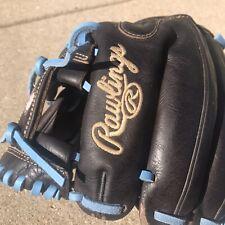 "Rawlings Pro Preferred 11.5"" Baseball Glove Custom Carolina Blue"