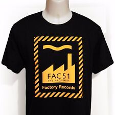 factory records hacienda stone roses fac51 manchester new order rave t shirt