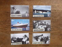 NEW ZEALAND 2018 WARTIME SET 6 MINT STAMPS