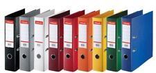 10x Esselte LEITZ Ordner Plastik-Ordner DIN A4 75mm farbig sortiert RingOrdner