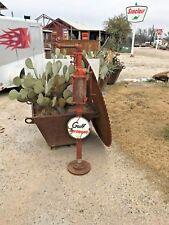 vintage gulf kerosene dispenser, gulf gas pump,porcelain gulf sign, sinclair,mob