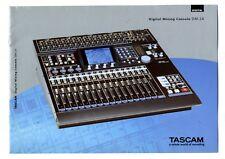 TASCAM - DM - 24   CATALOGO ORIGINAL     ORIGINAL BROCHURE