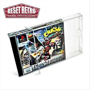 Schutzhüllen 0,3 oder 0,5mm für Playstation 1 PS1 Protector Spiele Folie Box