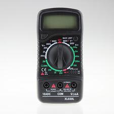 Digital XL-830L LCD Multimeter Voltmeter Ammeter AC/DC/OHM Volt Measurer Tester