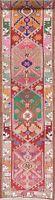 Palace Size Oriental Oushak Runner Rug Handmade Geometric Carpet 3 x 13