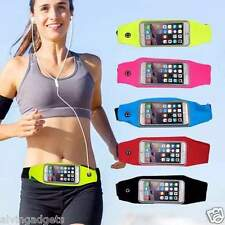 Jogging Sports Waist Belt Pouch Bag For Gadgets Asus iPhone Oppo Phone(D Blue)