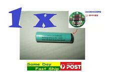 .1x New 18650 3.7V True 2200mah rechargeable Li-ion battery w/ protection board