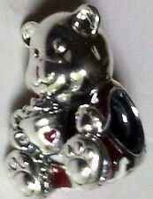 Pandora .925 Sterling Silver Bear Charm 797564ENMX