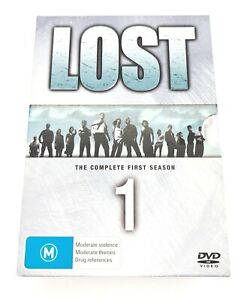 Lost The Complete First Season Hard Cover DVD Volume 1-7. Very Good *Free Post*