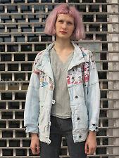 Lucky Luke comic Designer Jeansjacke Jacke 90er True Vintage jeans jacket 90s